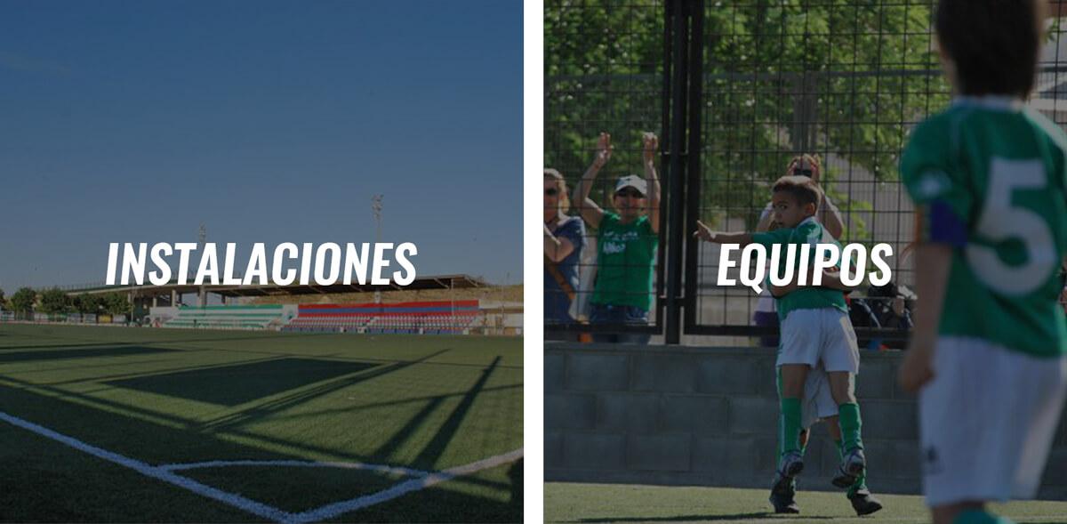 Club Colegio Salgui Instalaciones equipos