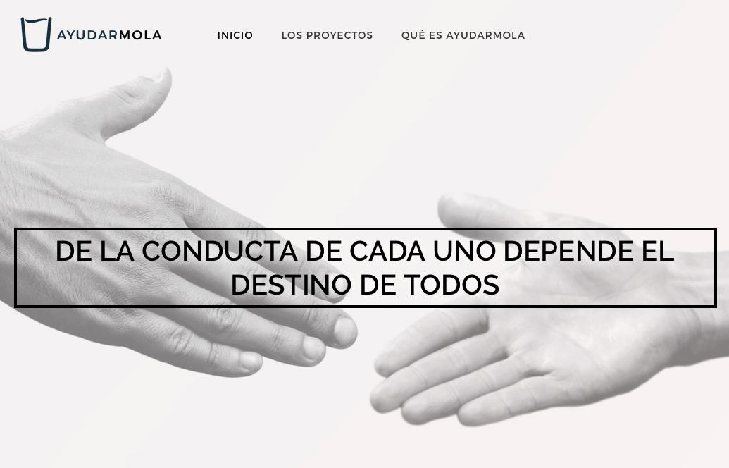 AyudarMola.com hosting solidario Webempresa
