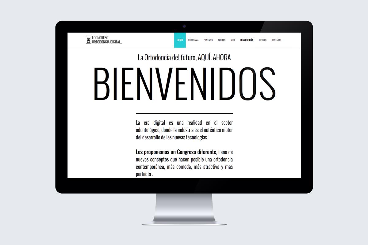 Congreso de Ortodoncia Digital web bienvenidos