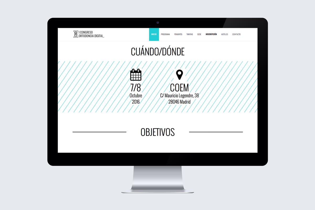 Congreso de Ortodoncia Digital web cuando donde
