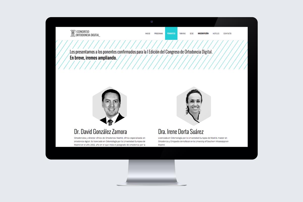 Congreso de Ortodoncia Digital web cuando ponentes
