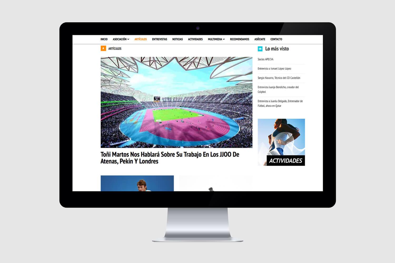APECVA Asociación Psicología Deporte Comunidad Valenciana web
