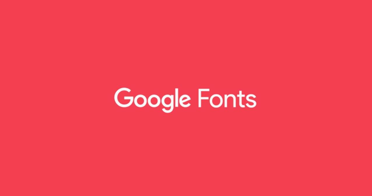 Google Fonts nueva web